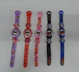 Relógios Infantil R$ 14,00