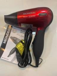 secador cabelos Mondial Max Travel 1200W bivolt 2 veloc