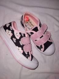 Tênis/ sandália feminina infantil