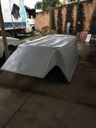 Título do anúncio: Capota de Fibra modelo alta, compatível com fiat Strada ano até 2013