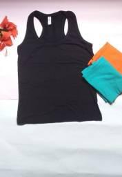Camisetas nadador no tecido viscolaicra com elastano