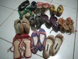 Título do anúncio: Sapatos diversos femininos