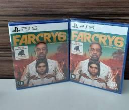 Título do anúncio: Far Cry 6 PS5 Lançamento Lacrado