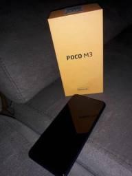 Vendo Poco M3 64 gigas dois meses de uso