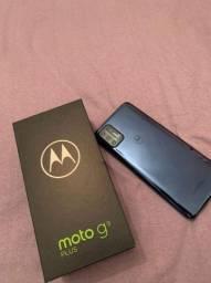 Moto g9 plus 128 GB Todos acessórios Tudo Ok