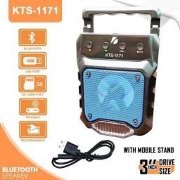 Caixa Bluetooth (Fm/Cartão SD/ USB)