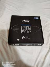 Motherboard Msi H310m Pro-m2 Plus 8a Geracao