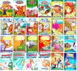 Livros e atividades infantis
