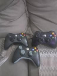Título do anúncio: Controles Xbox 360 LEIA TUDO