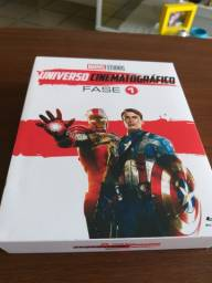 Bluray Marvel Fase 01 - Original e Novo