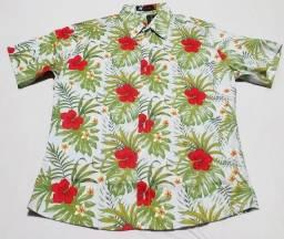 Título do anúncio: Camisa de botão floral moderna