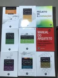 Coleção de livros de Arquitetura