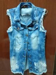 Colete jeans distroid