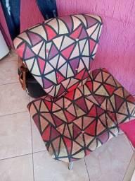 2 cadeiras usadas