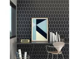 Revestimento hexagonal 10x18cm