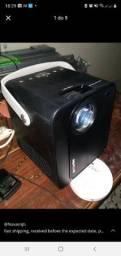 Título do anúncio: Projetor  BW-VP7 5000 Lux Mini LED - Cinema em Casa