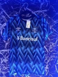 Camisa Grêmio aquecimento