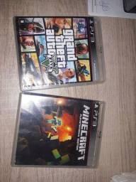 Título do anúncio: Minecraft e GTA v