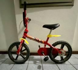 Título do anúncio: Bicicleta infantil aro 12 Iron man por 225 reais!!