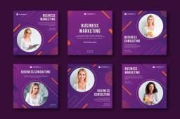 Kit mensal (posts e stories) - redes sociais - design gráfico