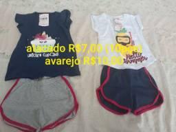 Roupas infantis por R$7,00