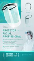 Mascara protetora facial FACE SHIELD