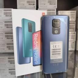 Celular Xiaomi redmi note 9 128gb 4ram. Novo. Garantia. Loja física.
