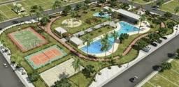 Vd por R$ 90.000 terreno c 260 m2 no Goiana Beach Life de frente pa as piscinas
