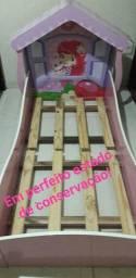 Mini cama infantil Moranguinho - Casinha