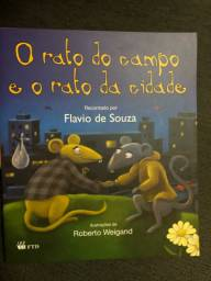 Livros O rato do campo e o da cidade / Jogo do pega pega