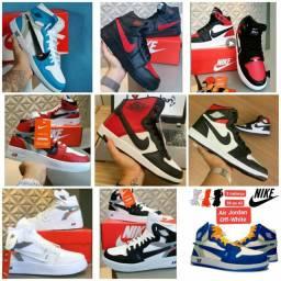 Vendo tênis nike air Jordan e outros modelos ( 130 com entrega)