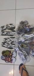Sandálias personalizada com estampa do 13 futebol  clube