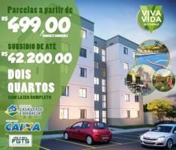 2 quartos em São Vicente parcelas de 499reais*