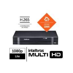 dvr gravador cameras de monitoramento mhdx multi hd 1104 intelbras 1080p 4 ch
