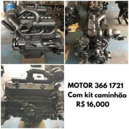 Motor mercedes 366 turbo revisado
