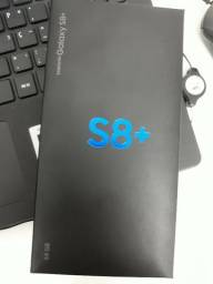 Samsung Galaxy S8+ PLUS - Novo - Lacrado - 1 ano de garantia