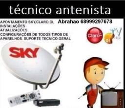Técnico antenista da sky_ oi_ claro/parabólicas