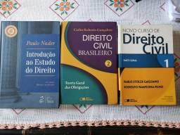 Livros de Direito / Direito Civil e Introdução ao estudo do Direito