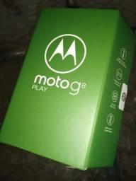 "Motorola Moto G8 Play, 6.2"", 32GB, Octa-Core, , Vermelho Magenta - XT2015-2"