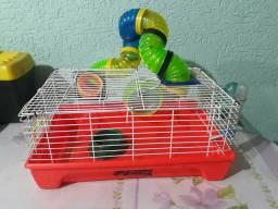 Gaiola + kit hamster
