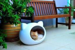 Casa/toca P/ Cães E Gatos