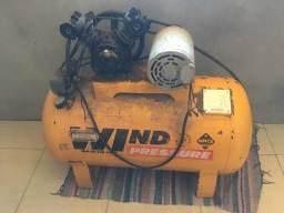 Compressor wind pressure