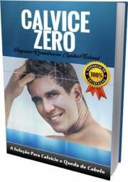 Livro Como Fazer Nascer Cabelo -Para calvice Masculino e Feminino Natural