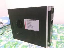 Placa mae DDR2 queimada + CPU celeron dual core E3200 + memoria DDR2 2GB + gabinete