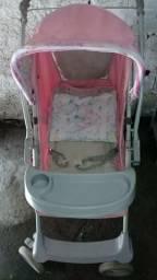 Vendo Carrinho de Bebê Rosê