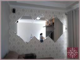 Mosaico de espelho bisote 2,00 x 1,00 apenas - Parcelamos em até 12x sem juros