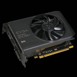 Placa de Vídeo GTX 750Ti 2gb SC