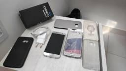 Samsung Galaxy S7 Flat 32gb - Prata