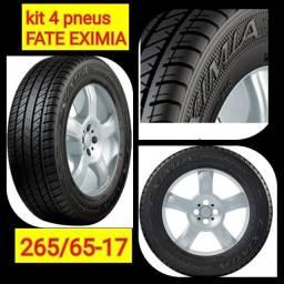 Pneus novos 265/65-17 Fate Eximia