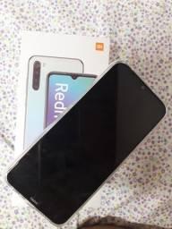 Celular Redmi note 8, com menos de um mês de uso e sem marcas de uso